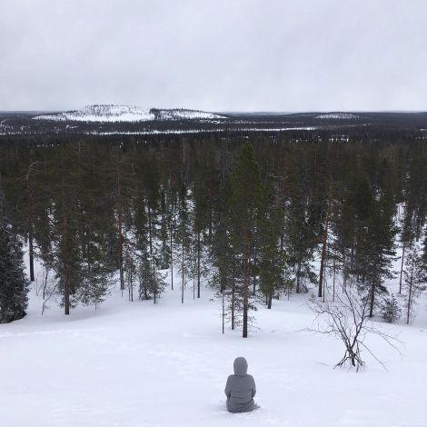 Einsamkeit in Zeiten von #corona? Nach typisch finnischer Manier genieß ich…