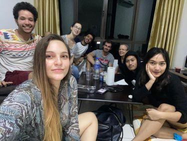 Abschied Freunde Malaysia