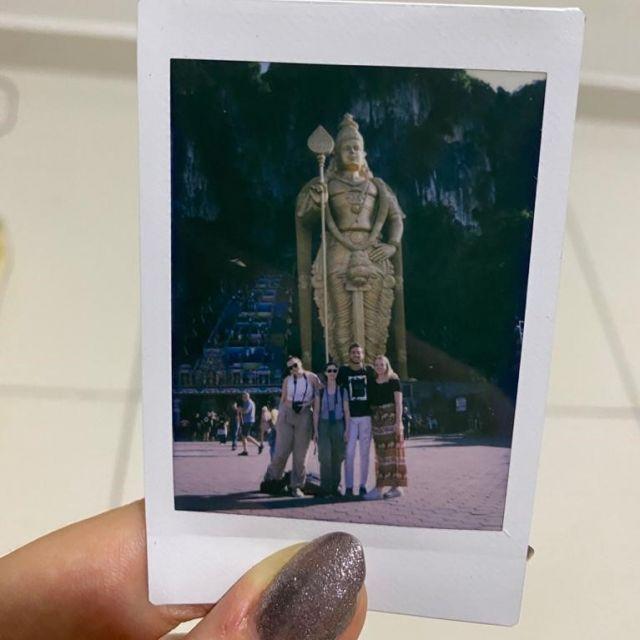 Ich und Freunde bei den Batu Caves