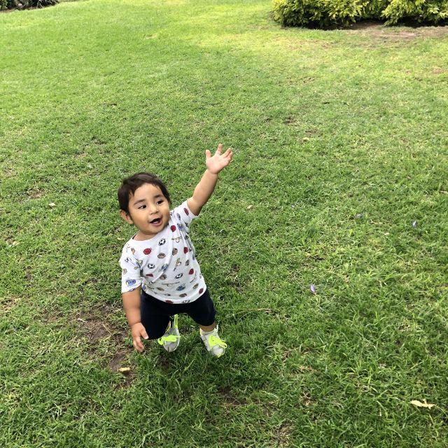 Kleinkind im Park