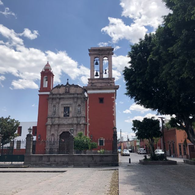 Kirche im Stadtzentrum in Mexiko