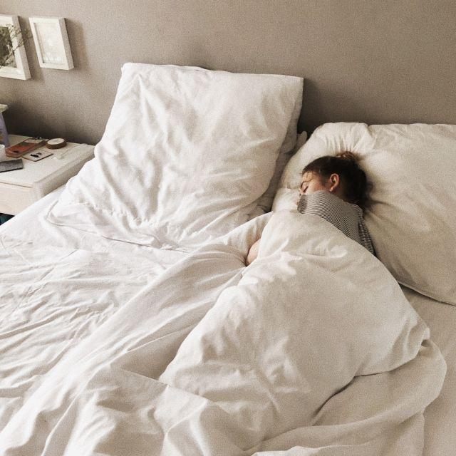 Leonie schläft