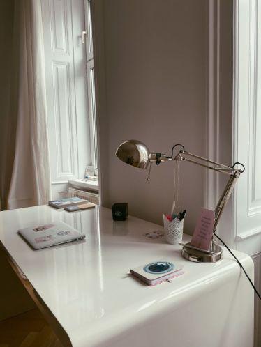 Mein Schreibtisch in Wien