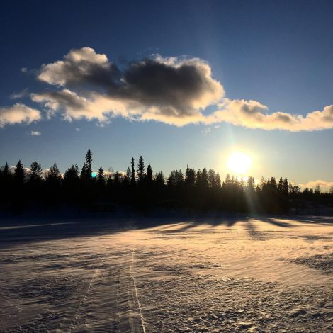 Die finnische Sonne lässt sich von #corona nicht einschüchtern und gibt…