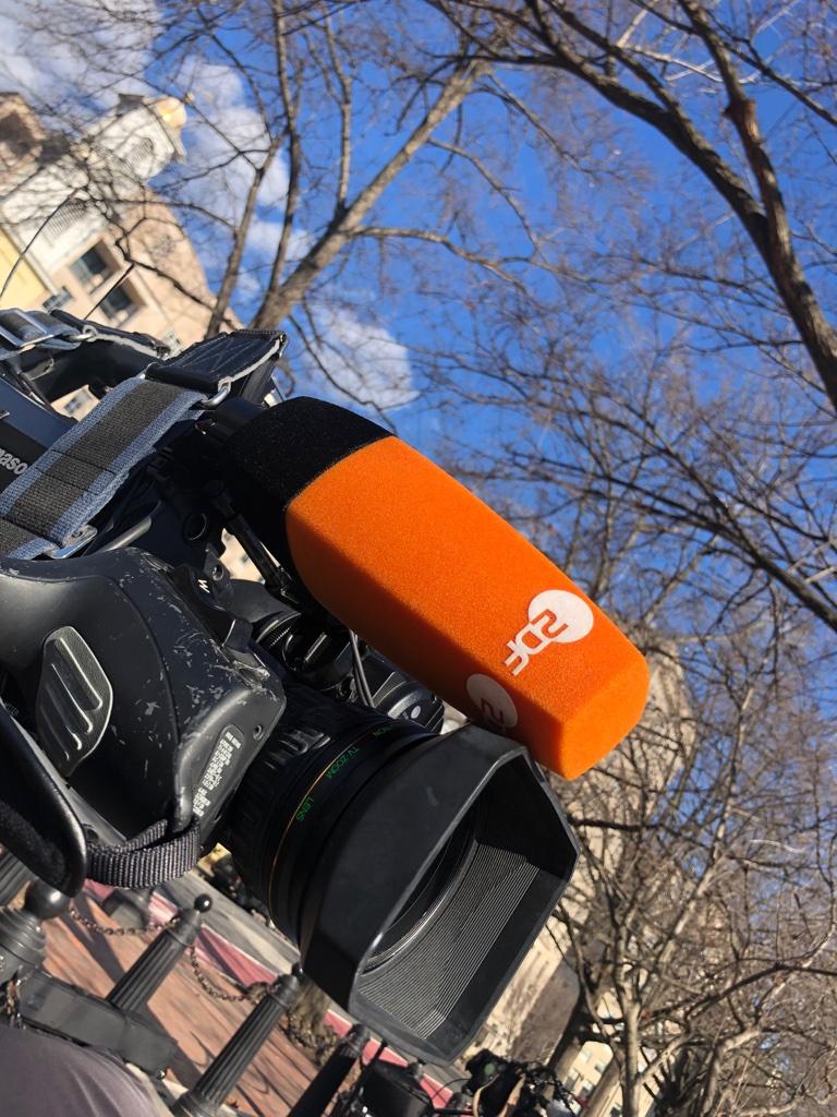 Als rasende Reporterin in Washington D.C.