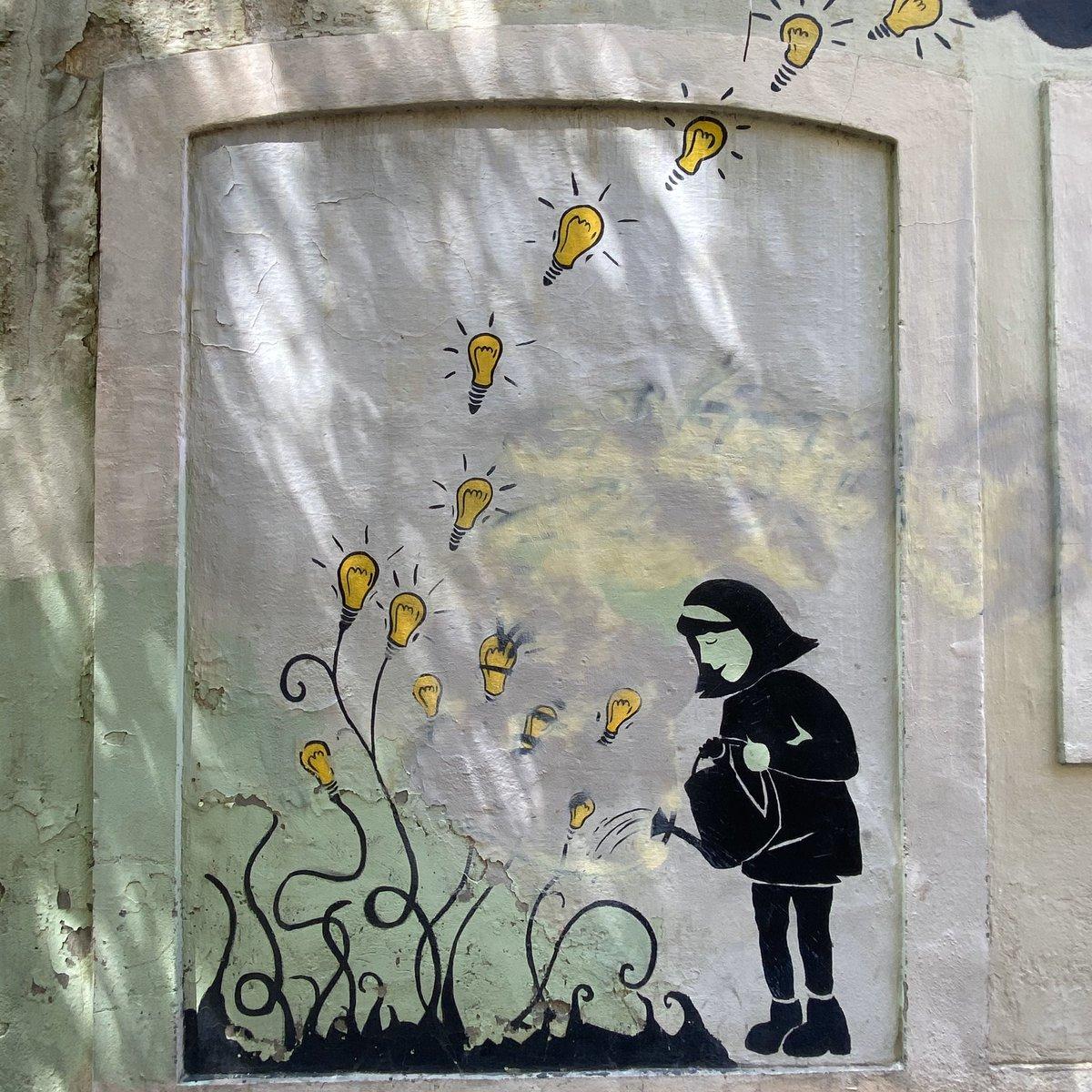 Ich liebe es wie kreativ die Leute sind, die in Gràcia wohnen! …