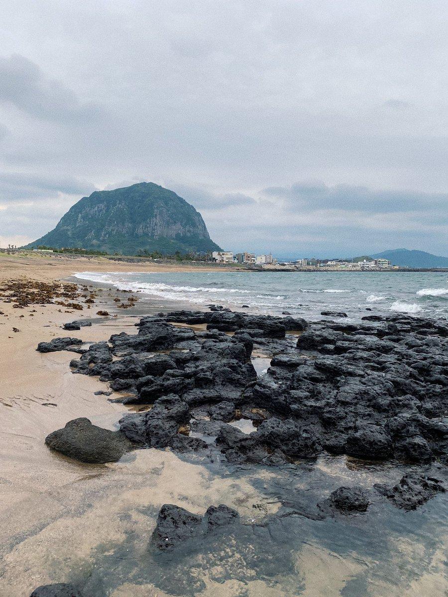 Touchdown #Jeju. Die Insel ganz im Süden des Landes ist durch Vulkanausbrüche…