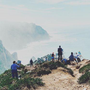 Caspar David Friedrich Moment am Cabo da Roca.🌊 #erlebees #cabodaroca…