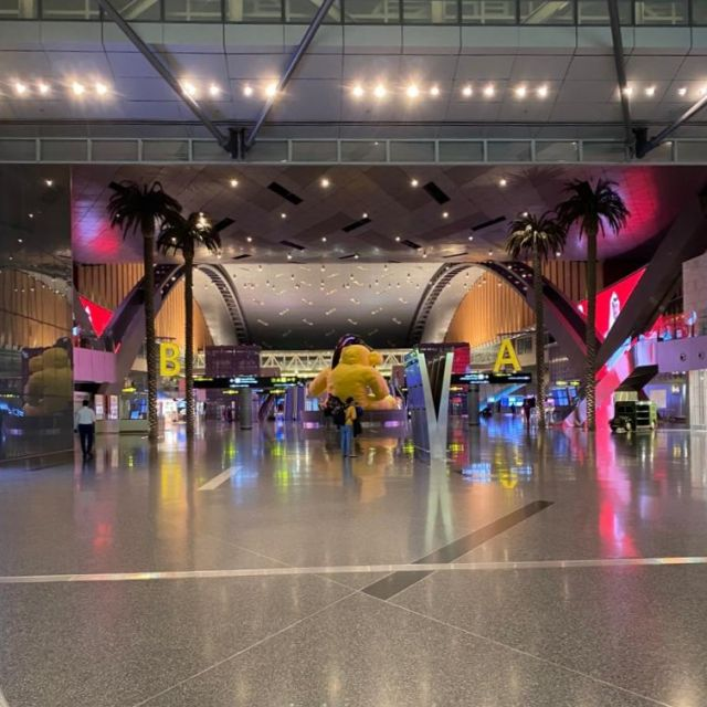 Leere Flughafen in Katar II