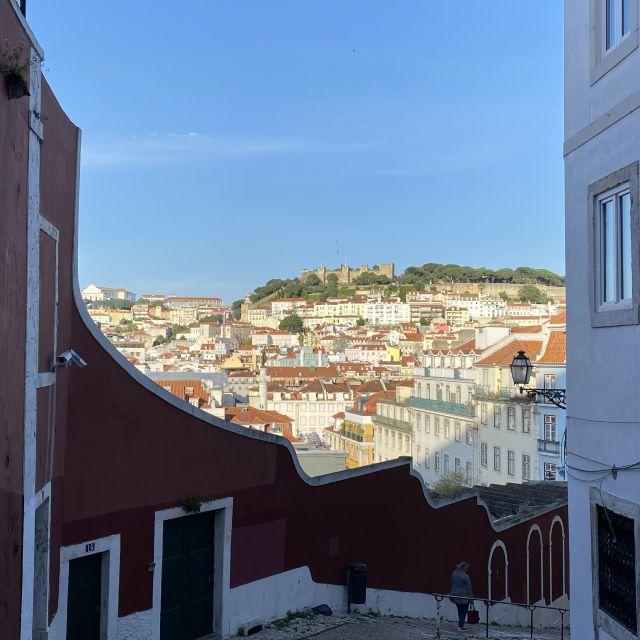 Panoramablick auf Lissabon.