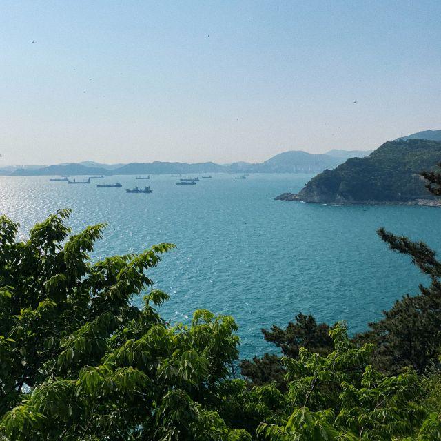 Aussicht über das Japanische Meer
