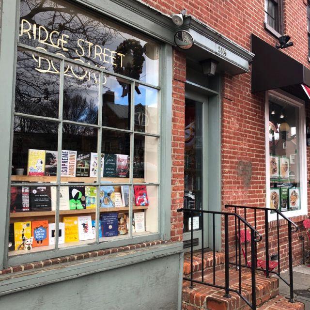 das ist ein Buchladen in Adams Morgan