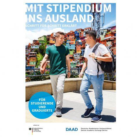 """Broschüre """"Mit Stipendium ins Ausland"""""""