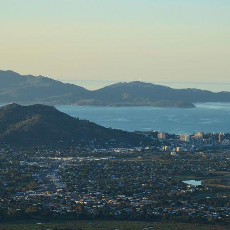 Townsville von Mount Stuart aus gesehen