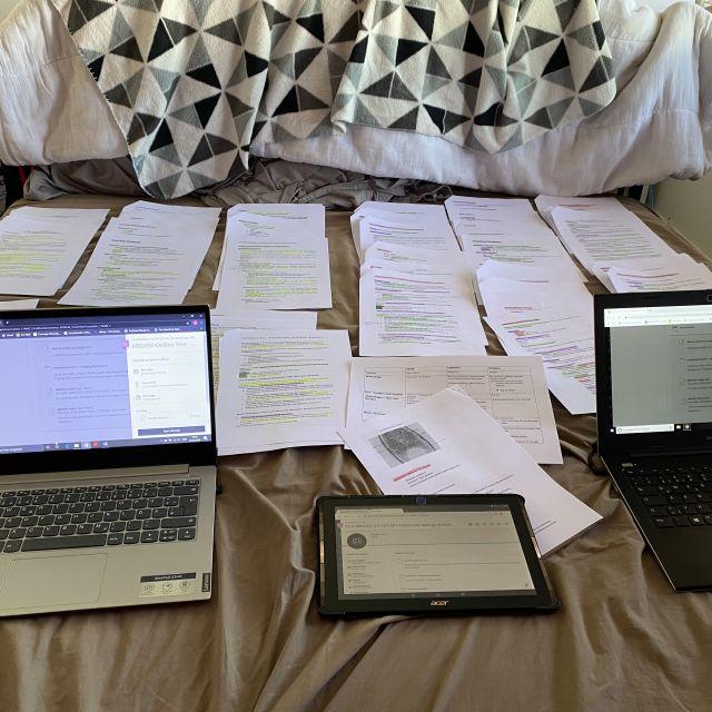 So schreibe ich die Klausuren