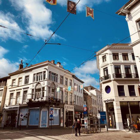 Straße in Gent