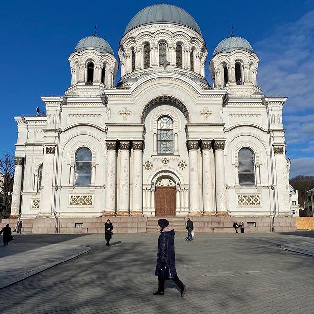 Eine Kirche in Litauen.