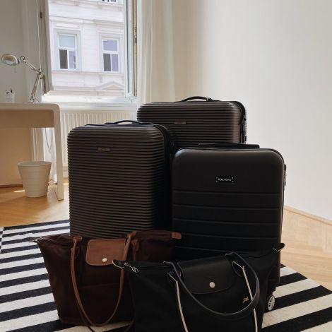 3 Koffer, 2 Taschen, kein Filmteam - auf nach Hause!…