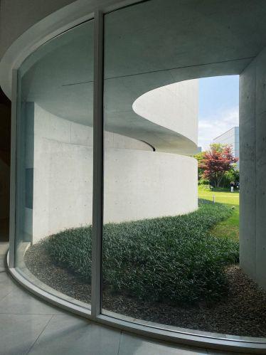 Im Mimesis Art Museum in Paju lässt sich neben der Kunst auch das Gebäude an…
