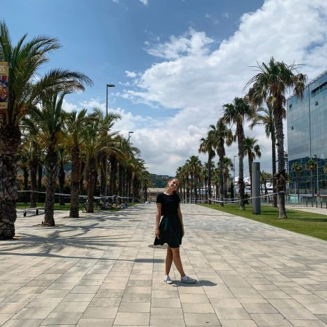 Endlich fühlt es sich wieder so an wirklich in Barcelona und nicht nur in…