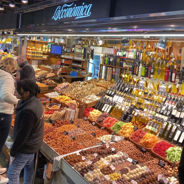 Ein Markt in Spanien.