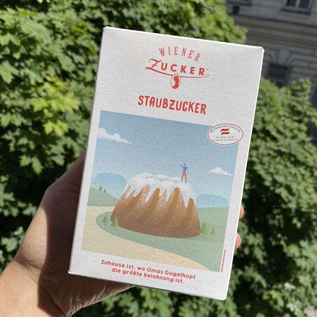 Wiener Staubzucker (Puderzucker).