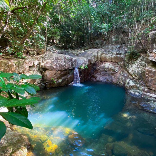 Ein See mitten im australischen Dschungel.