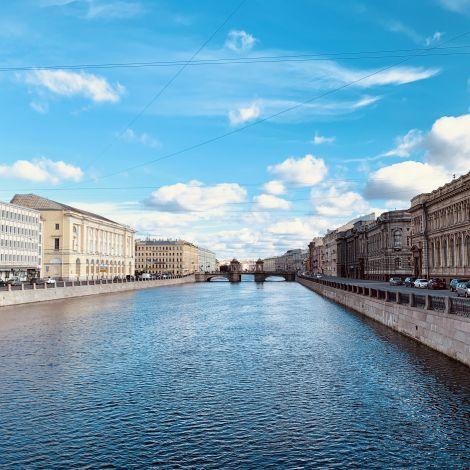 Stadtbild von St. Petersburg
