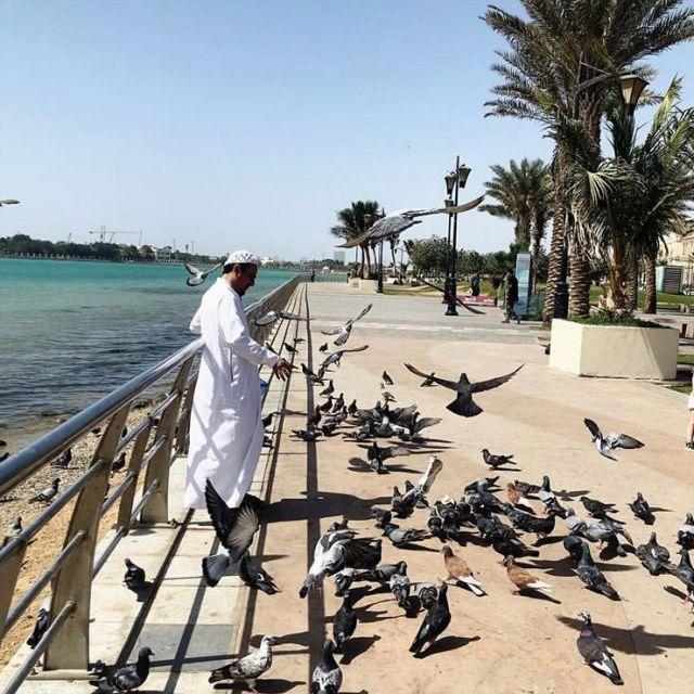 An der Corniche in Djidda