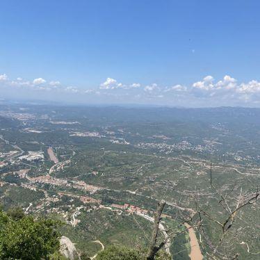 Anblick von einer typischen spanischen Landschaft.