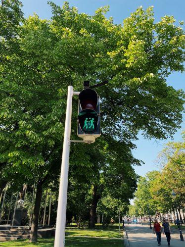 Für mehr Toleranz und Sicherheit im Verkehr: Die Wiener Fußgängerampeln…