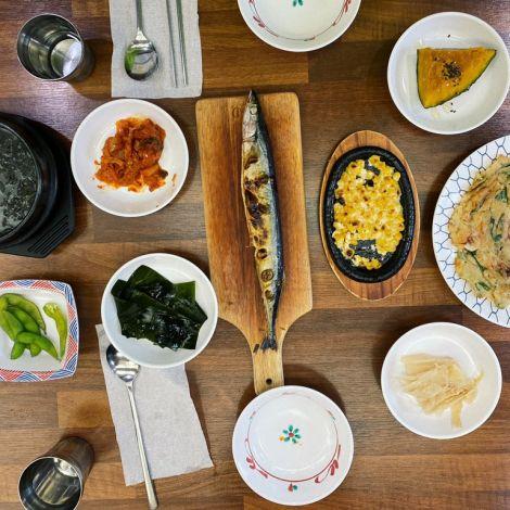 Was ich an der koreanischen Küche so liebe? 1. Es wird meistens alles geteilt…
