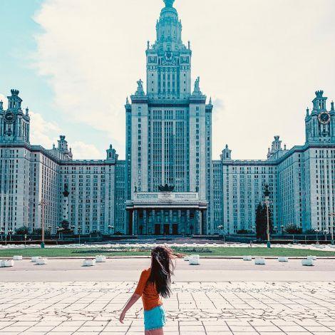 Moskau State University oder auch Lomonossow-Universität genannt @official_msu…