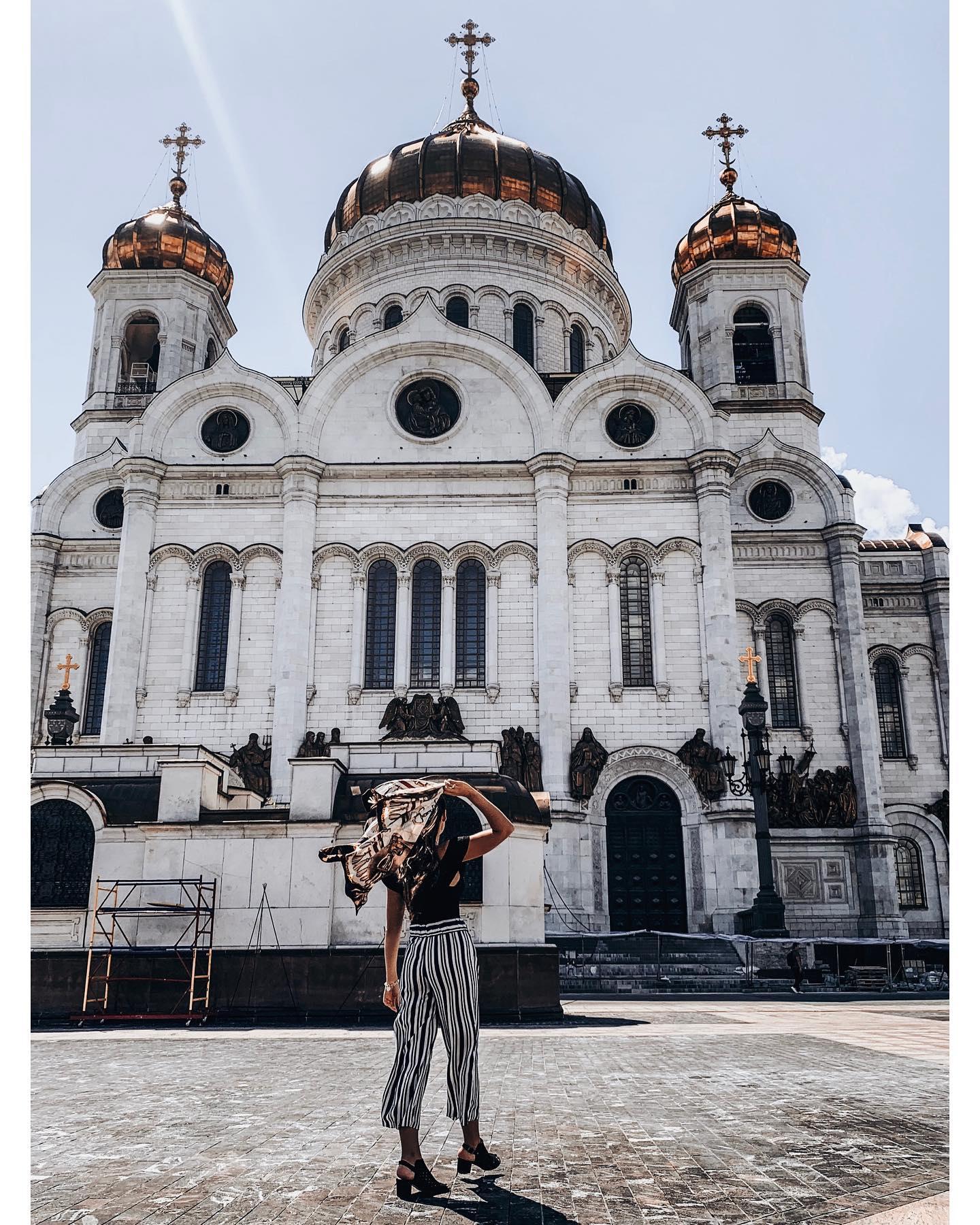 Christ-Erlöser-Kirche im Zentrum Moskaus @xxc_ru …