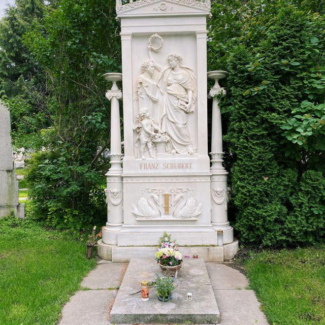 Ehrengrab von Franz Schubert.