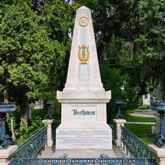 Ehrengrab von Ludwig van Beethoven.
