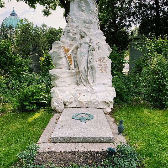 Ehrengrab von Johann Strauss.