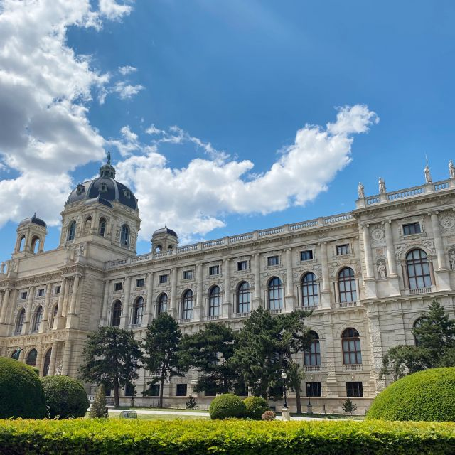Das Naturhistorische Museum.