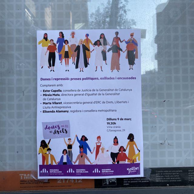 Ein Flyer auf Català.