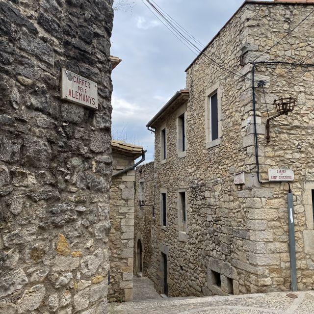 Historische Häuser in Girona.