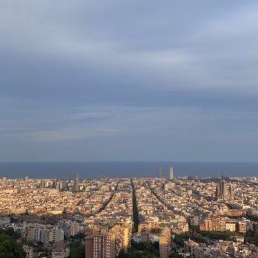Ausblick über Barcelona.