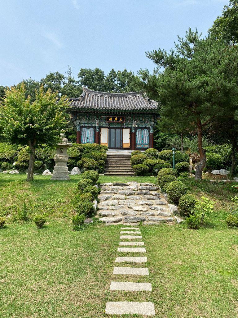 Wie lebt es sich in einem buddhistischen Tempel in Südkorea?