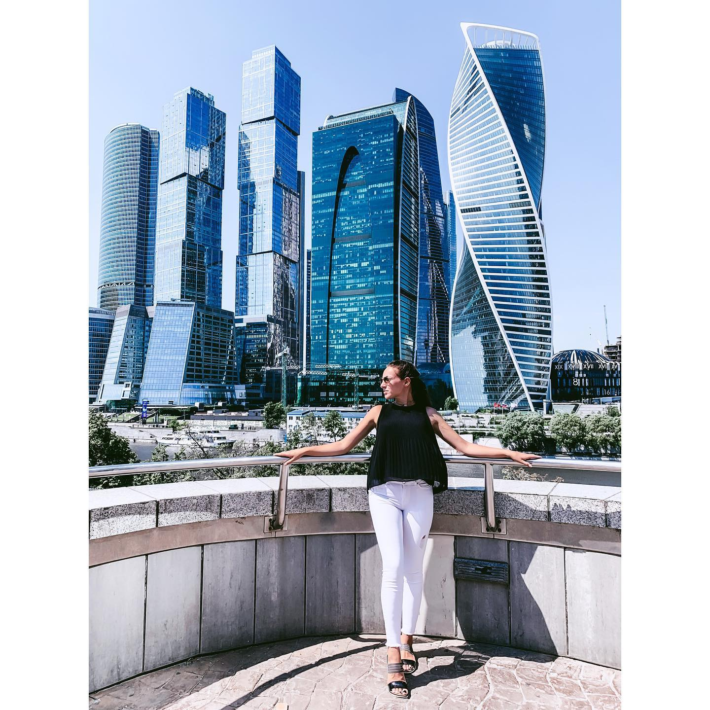 Moskau City, die neue Skyline der Stadt. Neu, modern und europäisch wollte…