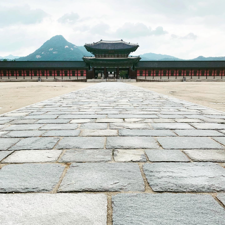 Ein weiterer kultureller Schatz Seouls: Gyeongbokgung Palace, im 14. Jhd.…