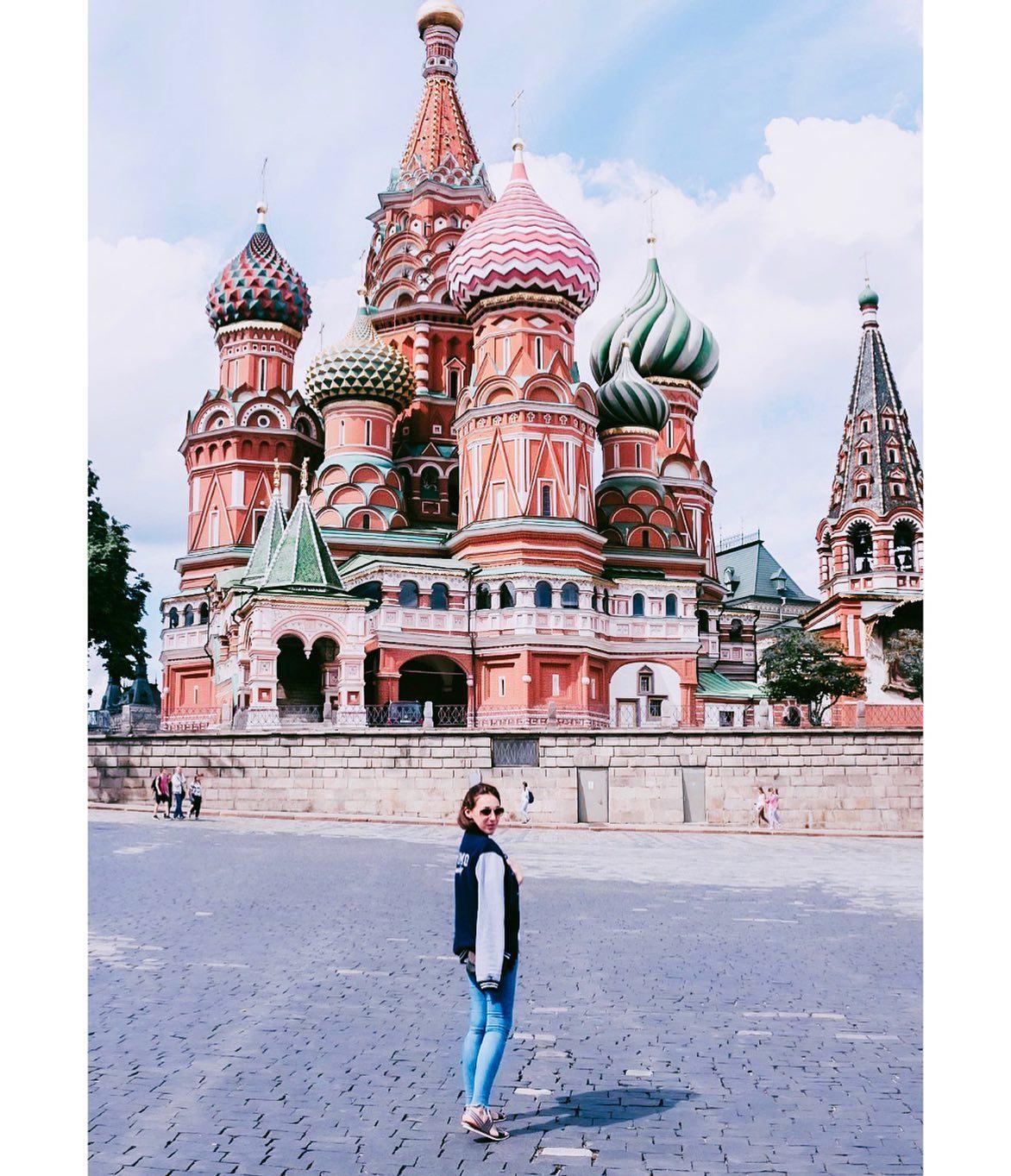 Eine der berühmtesten Kirchen der Welt: Kathedrale des seligen Basilius…