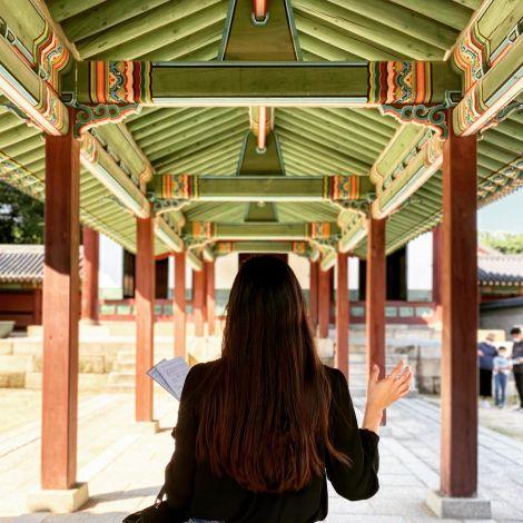 Changdeokgung (창덕궁, wörtl.: Palast der gedeihenden Tugend) ist einer der…