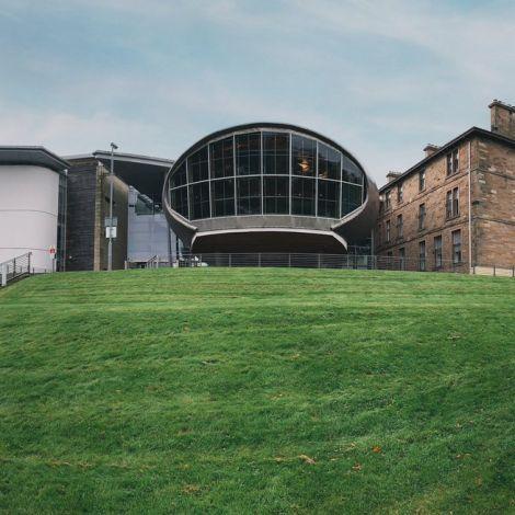Heute habe ich den Craiglockhart Campus besucht. Hier hätte ich eigentlich all…