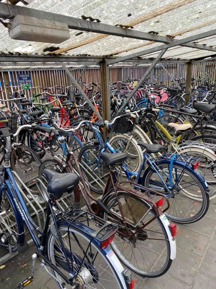 Die Niederlande ist das Fahrradland. Überall wird hier mit dem Drahtesel…