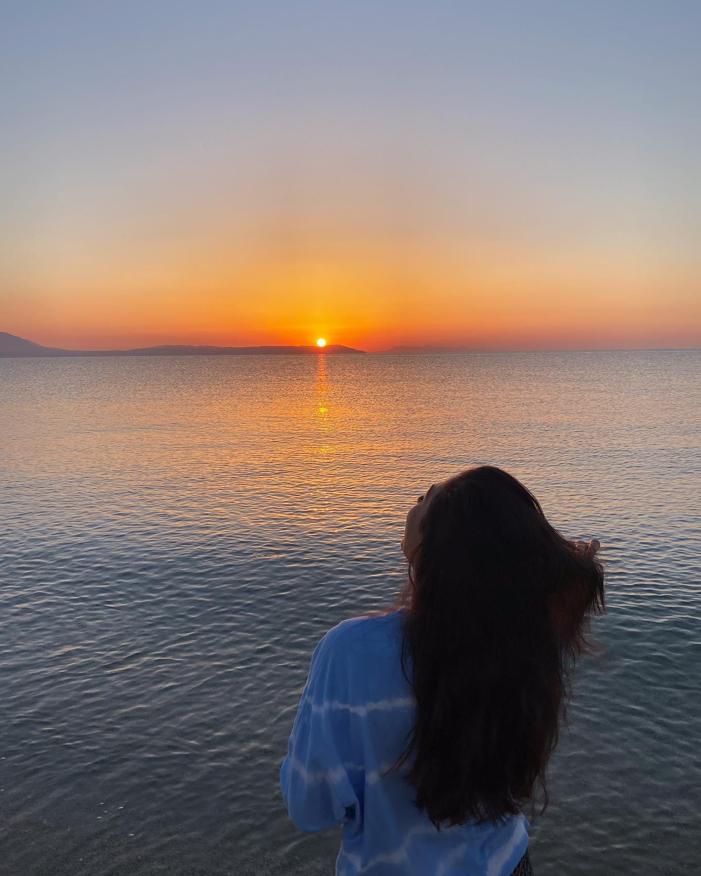 Nach zahlreichen Fehlversuchen heute doch noch pünktlich zum Sonnenaufgang…