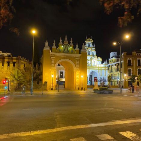 La Puerta de la Macarena. Das Tor markierte einst den nördlichen Eingang in…